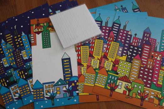sentosphere-tableau-3D-activité-enfant-immeuble-city-ville-collage-couleur