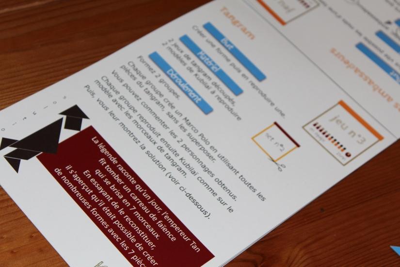 kim-box-diy-deco-jeux-animations-gateau-guirlande-boisson-cocktail-thème-marco-polo-paille-gouter-anniversaire-fiche-tangram-puzzle