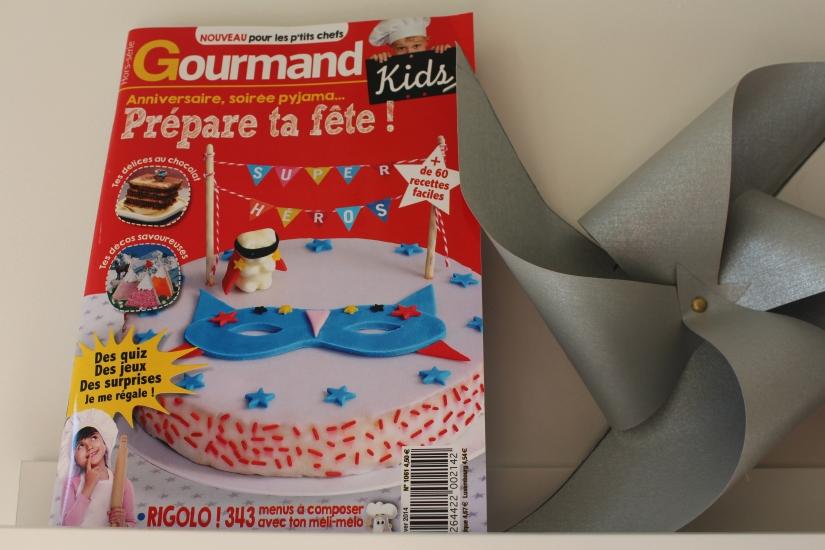Gourmand kids un magazine hors s rie de recettes de cuisine pour les enfants - Magazine recette de cuisine ...