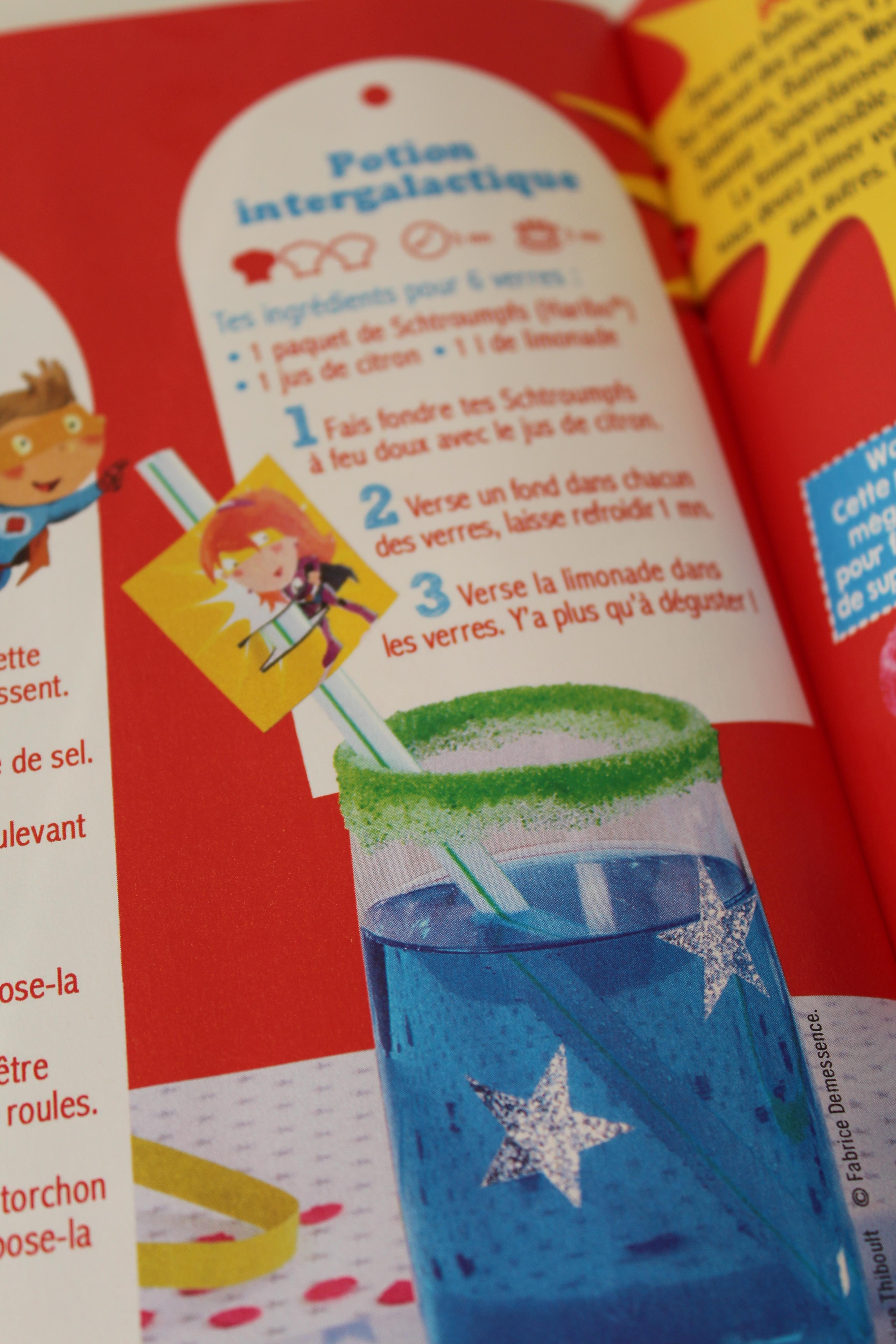 Gourmand kids un magazine hors s rie de recettes de for Cocktail 3 couleurs