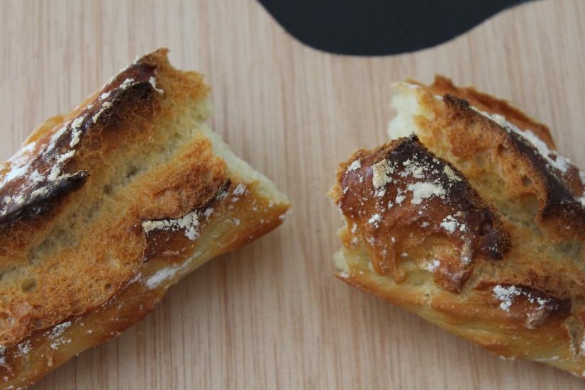 pain-magique-recette-machine-pétrir-sans-four-baguette-blog-croute-dessus-coupe