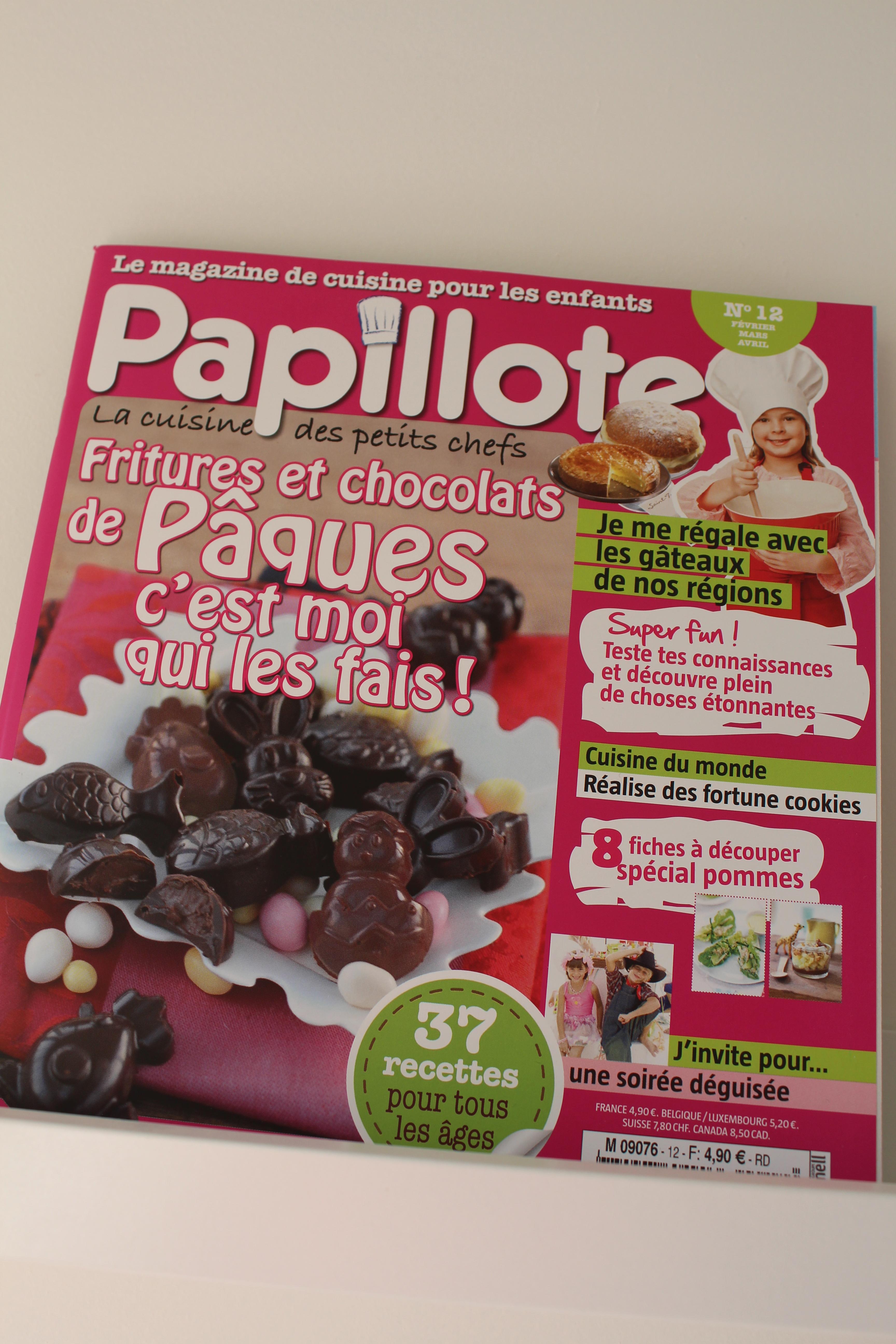 Papillote le magazine de cuisine pour les enfants - Magazine recette de cuisine ...