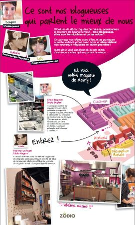 Brochure Zodio ouverture magasin Rosny mai 2014