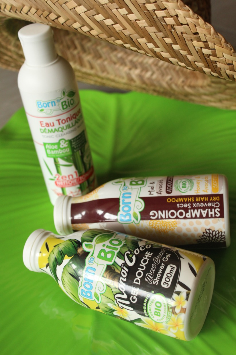 born-to-bio-shampooing-gel-douche-eau-tonique-visage-corps-eco-ecocert-ethique-recyclage-naturel-miel-avocat-monoi-coco