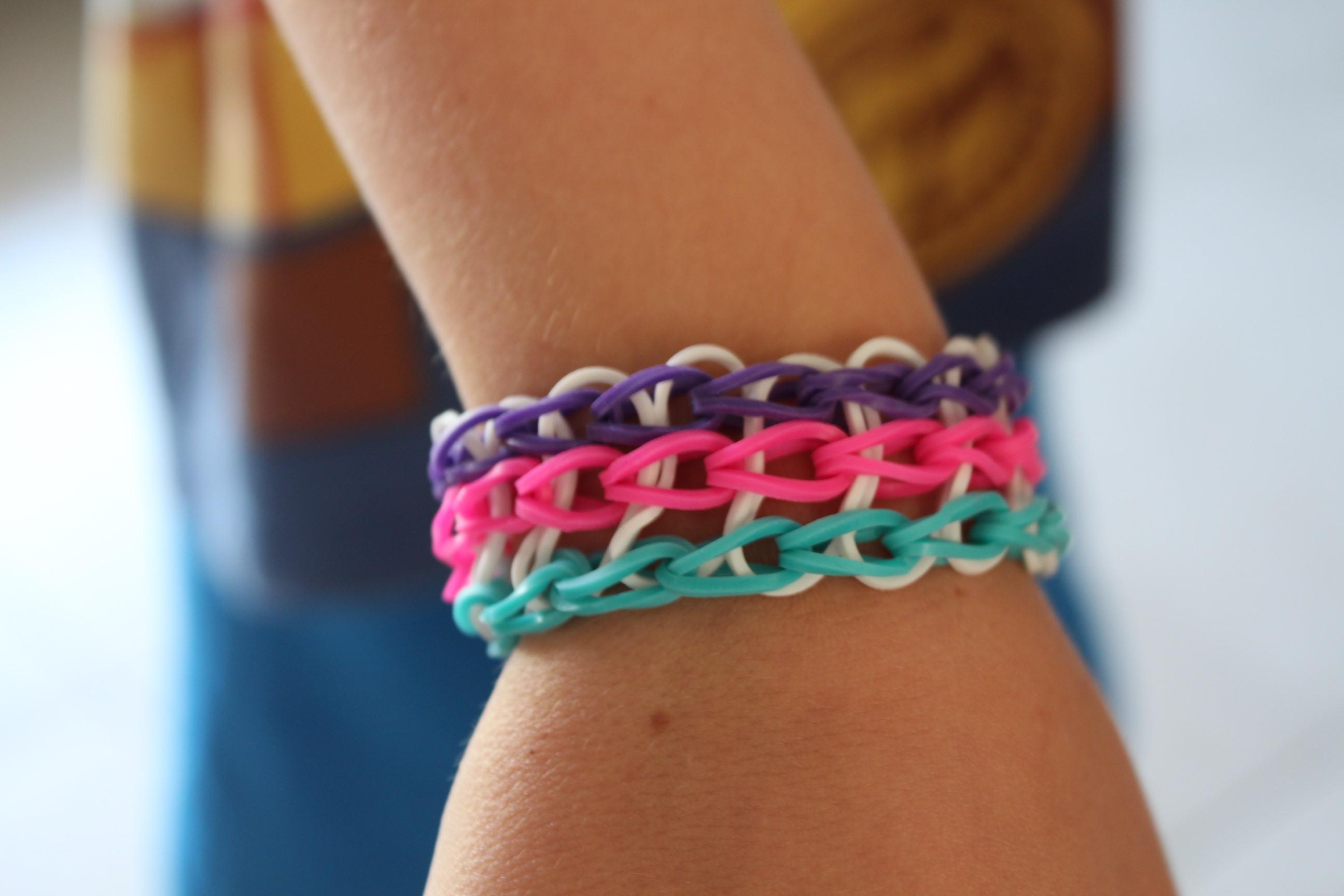 Nos derni res cr ations de bracelets lastiques crazloom - Comment faire des bracelets en elastique ...