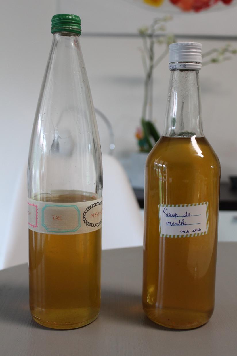 sirop-menthe-maison-bio-naturel-sucre-plante-bouteille-diy-cadeau-papa-litre-quantité