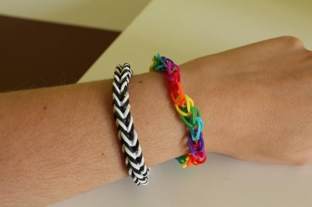 Nos derni res cr ations de bracelets lastiques crazloom - Bracelet arc en ciel ...