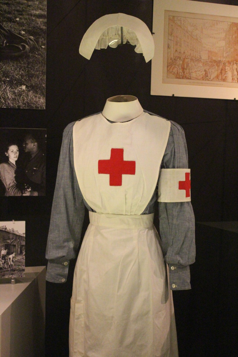 museum-of-london-musee-de-londres-histoire-enfant-sortie-decouverte-ludique-pedagogique-voyage-guerre-infirmière