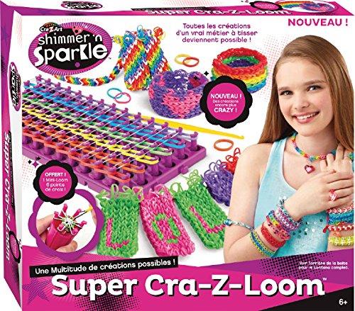 super-cra-z-loom-bracelet-elastique-metier-tisser-banderole-tricotin-mini-6-pointes-pochette-kit