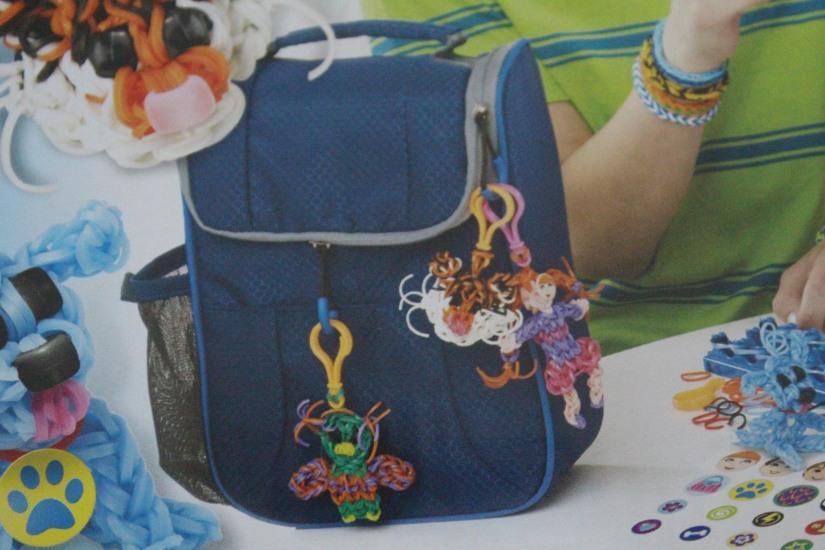 super-cra-z-loom-crazy-bracelet-elastique-personnage-banderole-metier-tisser-geant-figurine-porte-clé-pochette-portable-enfant-decoration-sac-ecole