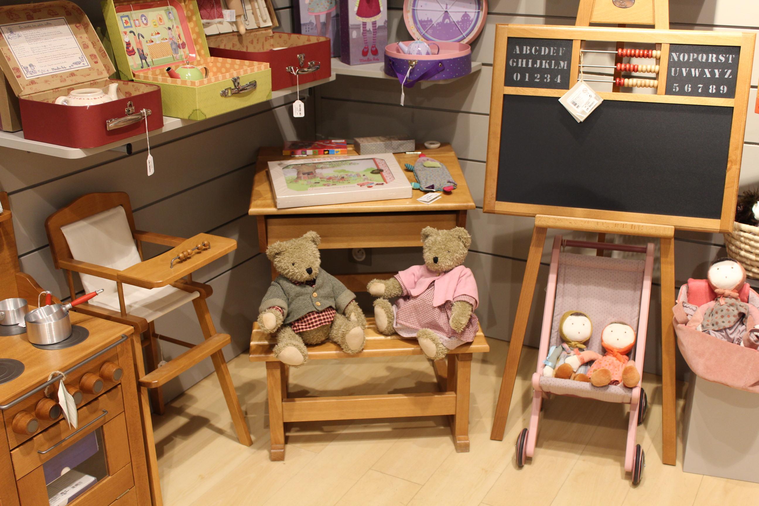 Paulin pauline la boutique de jouets moulin roty au - Tableau moulin roty ...