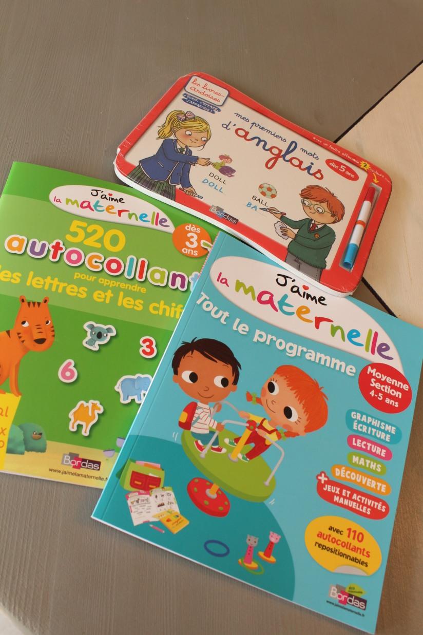bordas-livre-cahier-eveil-vacances-maternelle-autocollants-petit-enfant-animaux-lecture-nombre-lettre-chiffre-maths-anglais-decouverte-programme-ecole-jeu