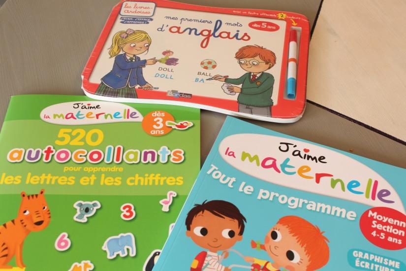 bordas-livre-cahier-eveil-vacances-maternelle-autocollants-petit-enfant-animaux-lecture-nombre-lettre-chiffre-maths-anglais-decouverte-programme-ecole