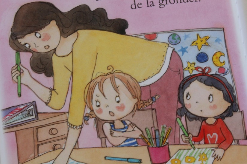fleurus-super-hugo-livre-album-jeunesse-enfant-betise-sage-garçon-ecole-douleur-turbulent-zoe-princesse-parfaite-maitresse