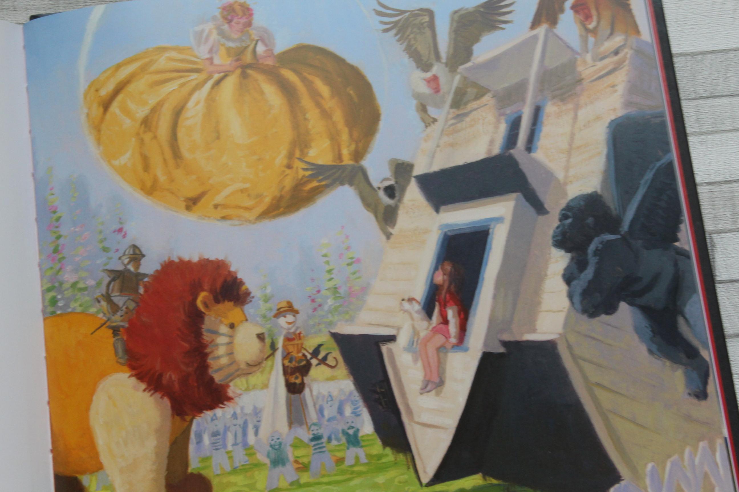 le magicien d oz le livre cd magique et po tique par didier jeunesse. Black Bedroom Furniture Sets. Home Design Ideas