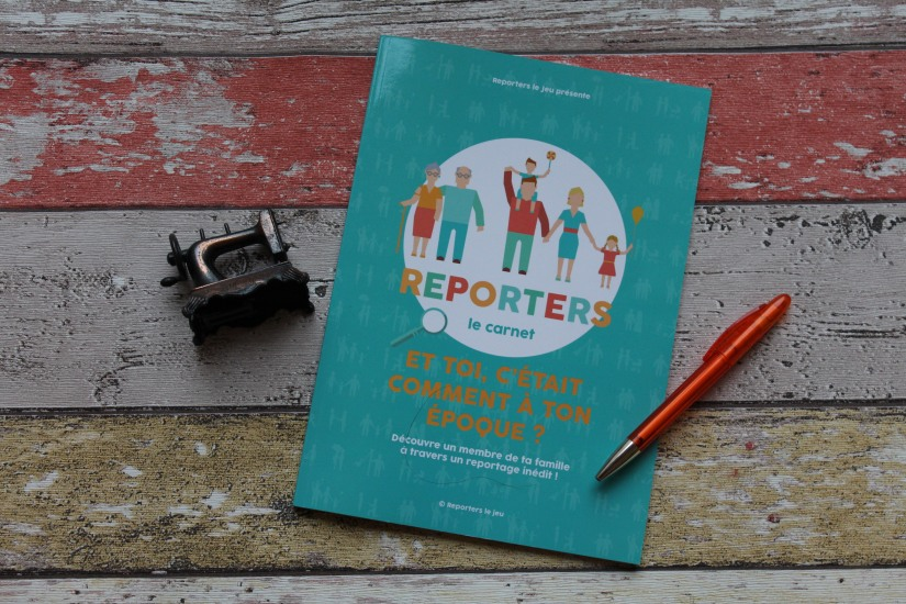 reporters-le-jeu-jouer-carnet-interview-journaliste-enfant-genealigie-passe-enfance-decouverte-ecrire-lire-questions-reponses-pteapotes-lydie-lecture