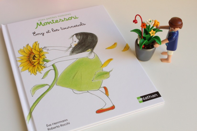 histoire-livre-jeunesse-nathan-montessori-methode-ludique-apprentissage-collection-emy-tournesol-fleur-graine-evolution-nature-rangement-ranger-jardin