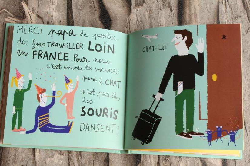 papa-livre-fete-lecture-album-jeunesse-pere-enfant-seuil-martiniere-editions-poetique-moderne-connecte-voyage-quotidien-humour-pingouin-dessin
