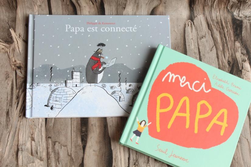 papa-livre-fete-lecture-album-jeunesse-pere-enfant-seuil-martiniere-editions-poetique-moderne-connecte-voyage-quotidien-humour-pingouin