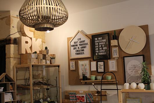 Cantik une boutique la d co scandinave sur bordeaux for Magasin deco bois