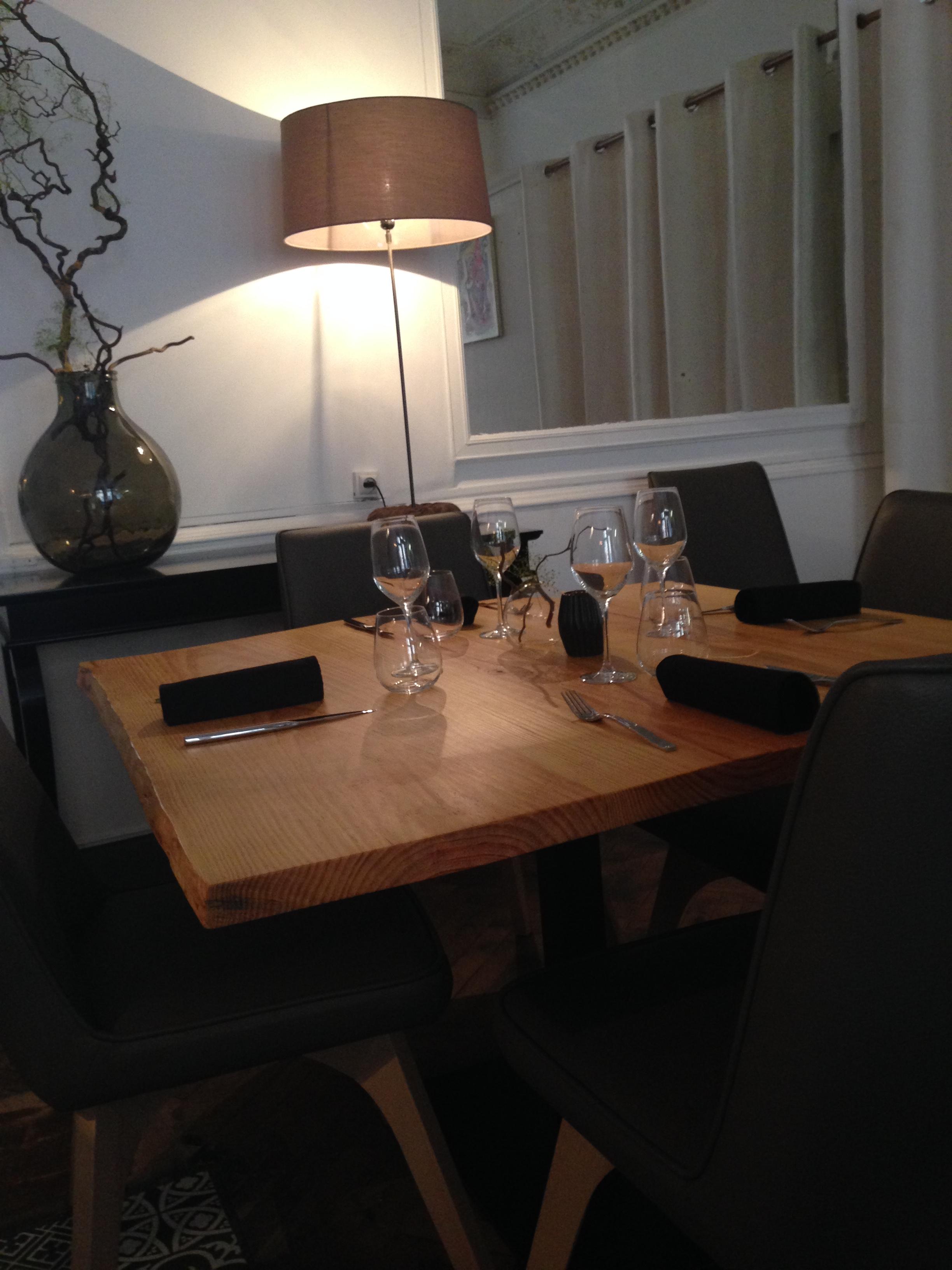 Le restaurant c t rue modernit et classe pour un repas - Restaurant enfant bordeaux ...
