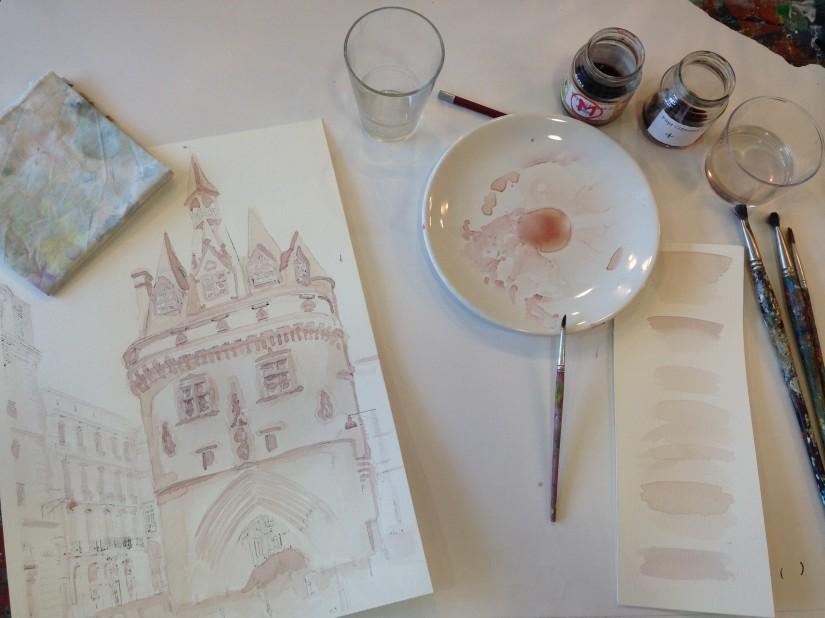 lezard-creatif-bordeaux-pessac-centre-ville-art-peinture-vin-aquarelle-atelier-seance-chateau-pape-clement-merlot-esquisse-tableau-technique-decouverte-degustation-18
