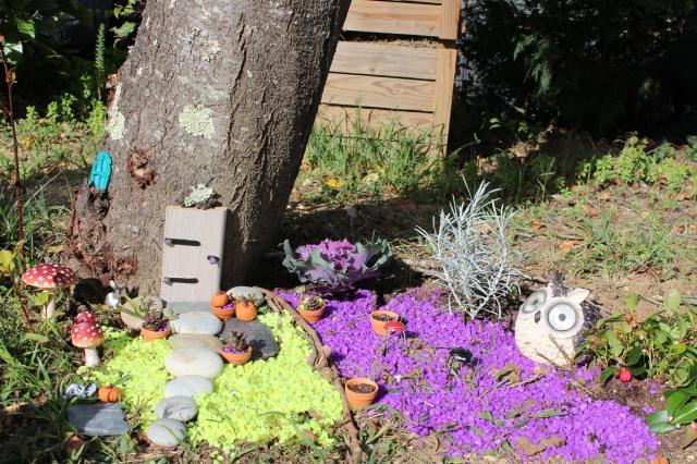 Diy un jardin de f es un monde miniature pour laisser for Brico deco jardin