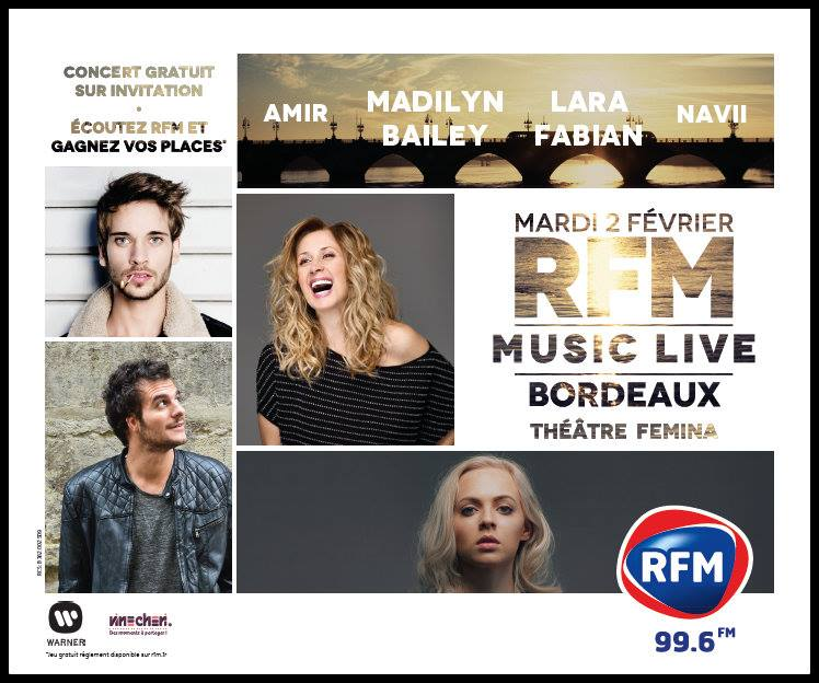 RFM music live