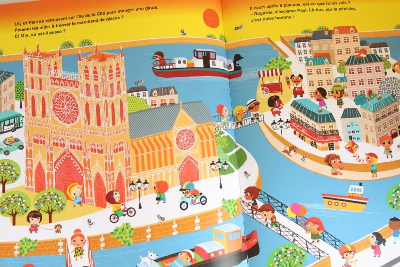 visiter paris avec un enfant