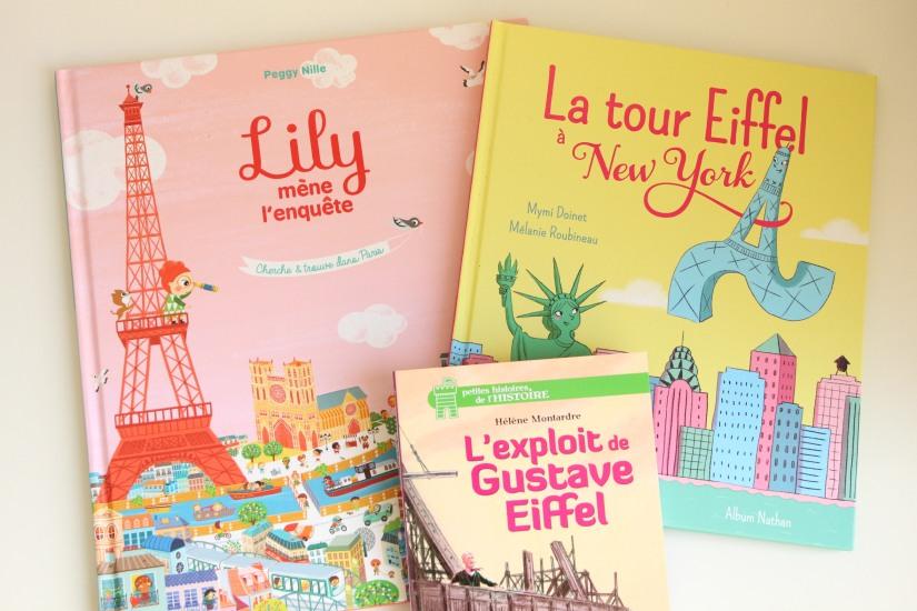 livre-lecture-lire-paris-capital-france-ville-decouverte-visite-album-histoire-cherche-lily-chat-new-york-statue-liberté-gustave-album-jeunesse