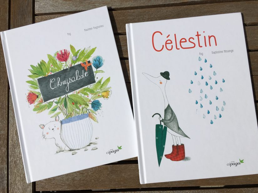 chrysalide-celestin-canard-fee-editions-cepages-morale-poesie-poetique-album-jeunesse-lecture-livre-doux-pluie-jardin