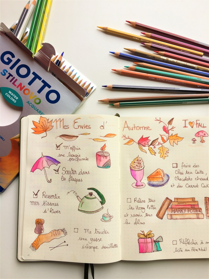 bujo-bullet-journal-carnet-dessin-agenda-organisation-creation-envie-stabilo-giotto-doodle-1
