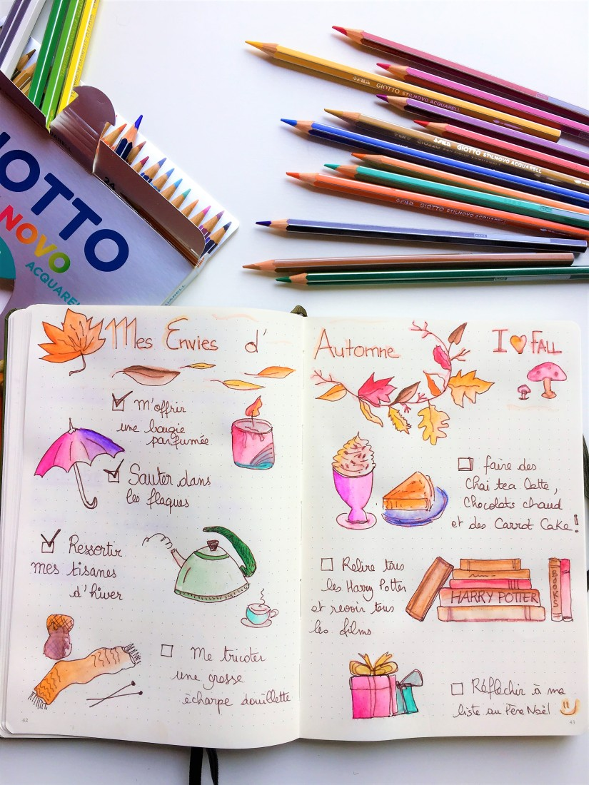 bujo-bullet-journal-carnet-dessin-agenda-organisation-creation-envie-stabilo-giotto-doodle-9