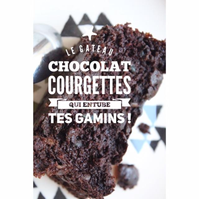 Le Gâteau Au Chocolat Et Courgettes Qui Entube Tes Enfants Pour Leur