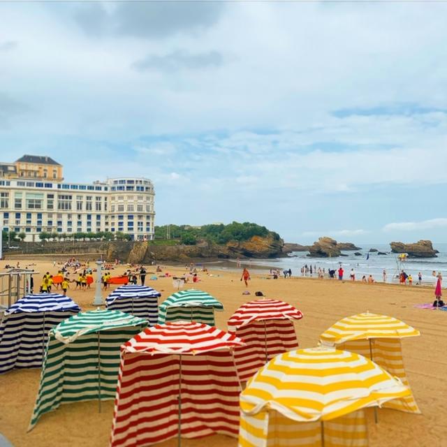 appartement location anglet biarritz vacances mer ocean golf pays basque cote atlantique paysage vague surf